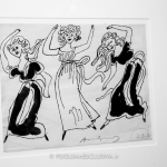 schizzi di Andy Warhol dedicati alla danza