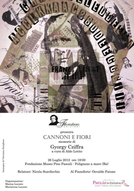 """""""Cannoni e Fiori"""" – Florestano Edizioni"""