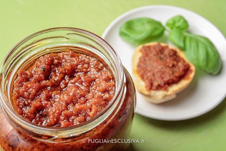 Pesto di pomodori secchi – Ricetta