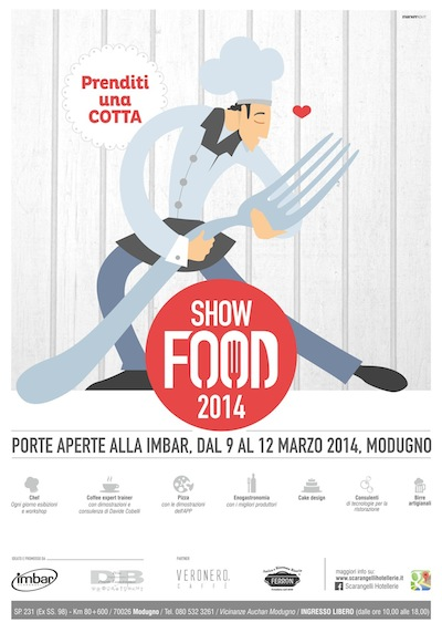 Show Food all'IMBAR dei fratelli Scarangelli