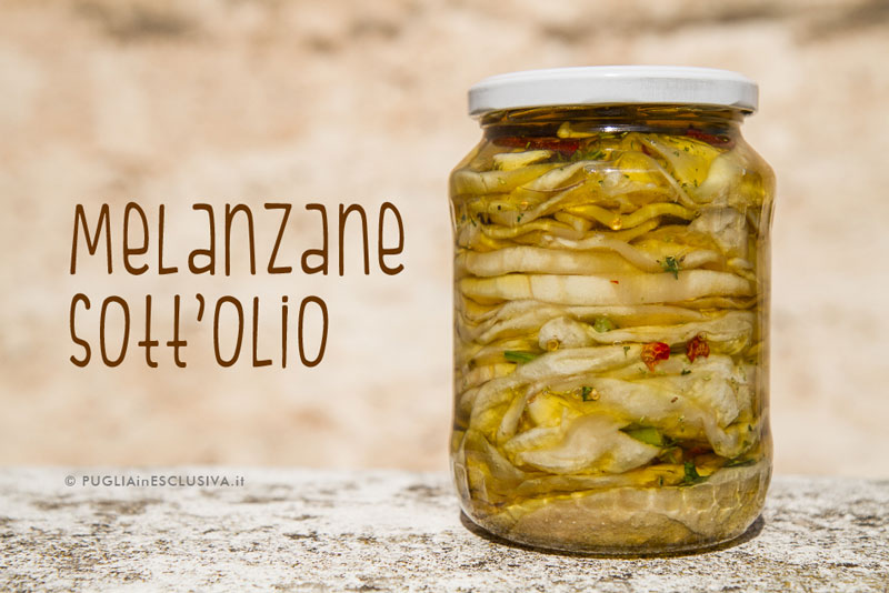 Melanzane sott'olio – ricetta