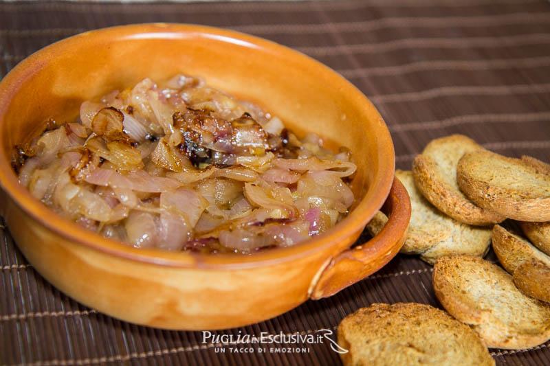 Cipolla di Acquaviva caramellata – ricetta