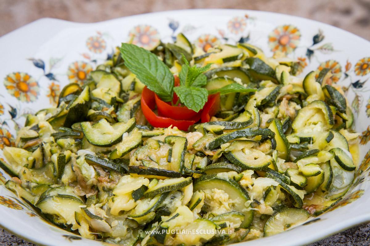 Zucchine trifolate alla poverella