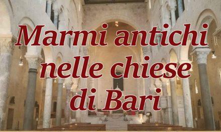 Marmi antichi nelle chiese di Bari
