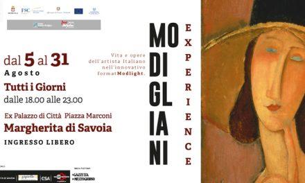 """Mostra """"MODIGLIANI EXPERIENCE – Vita e opere dell'artista italiano"""""""