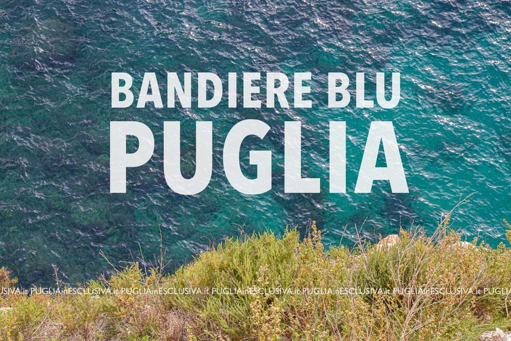 Bandiere Blu 2020 sulle spiagge di Puglia
